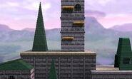 Castillo de Hyrule (64) SSB4 (3DS)