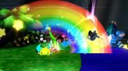 Kirby usando Gran Espada (4) SSB4 (Wii U)