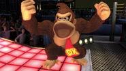 Donkey Kong en el Cuadrilátero SSBU