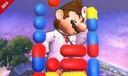 Entrada de Dr. Mario SSB4 (3DS)