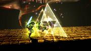 Golpe Trifuerza (Link) (5) SSB4 (Wii U)