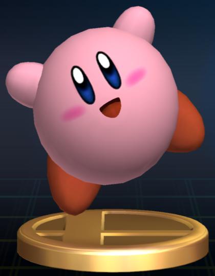 Lista de trofeos de SSBB (Kirby)