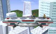 Corneria versión omega SSB4 (3DS)