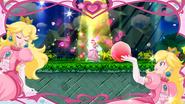 Flor de melocotón (3) SSB4 (Wii U)