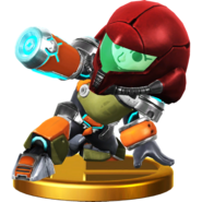 Trofeo de Tirador Mii (alt.) SSB4 (Wii U)