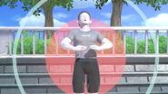 Entrenador de Wii Fit en Tomodachi Life SSBU