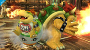 Bowsy y Bowser en la Pirosfera SSB4 (Wii U)