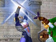 Créditos Modo Aventura Zelda-Sheik SSBM