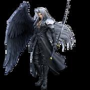 Art oficial de Sephiroth en Super Smash Bros. Ultimate
