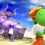 Yoshi esquivando el Espectro de Zelda SSB4 (Wii U).png