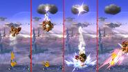 Cambios al Trueno de Pikachu SSB4 (Wii U)
