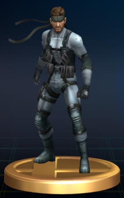 Lista de trofeos de SSBB (Metal Gear)