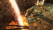Pilar de lava en la Central Geotérmica SSB4 (Wii U)