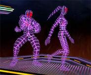 Modelos 3D de lucha SSBM