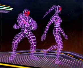 Modelos 3D de lucha