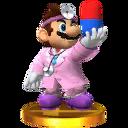 Trofeo de Dr. Mario (alt.) SSB4 (3DS)