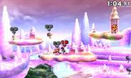Flying Men en Magicant en SSB4 (3DS)
