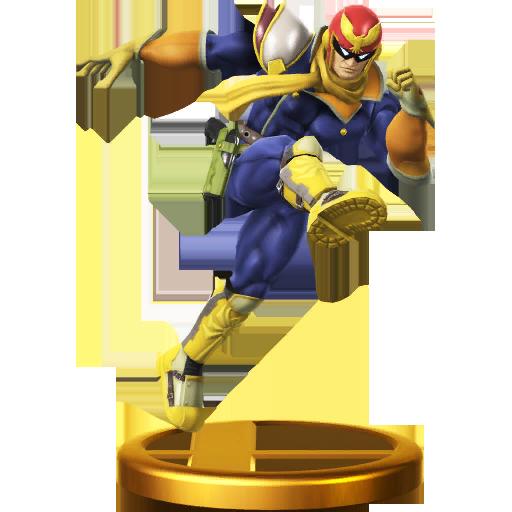 Lista de trofeos de SSB4 Wii U (F-Zero)