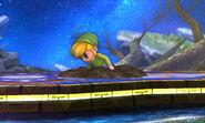Toon Link enterrado SSB4 (3DS)