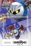 Embalaje del amiibo de Meta Knight (Japón)