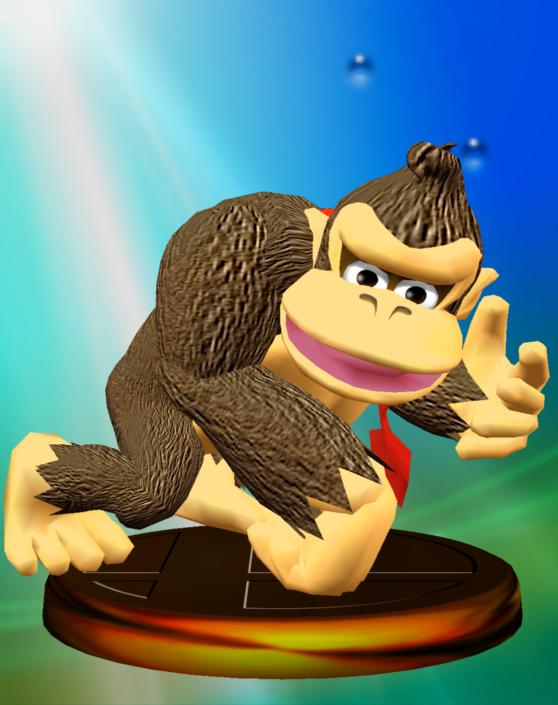 Lista de trofeos de SSBM (Donkey Kong)