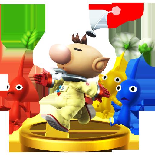 Lista de trofeos de SSB4 Wii U (Pikmin)