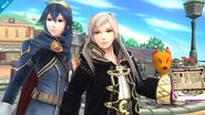 Lucina y Daraen SSB4 (Wii U)