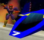 Entrada Captain Falcon SSB