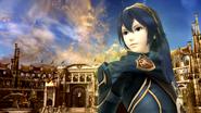 Lucina en el Coliseo SSB4 (Wii U)