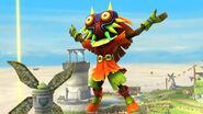Skull Kid en Altárea SSB4 (Wii U)
