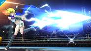 Ámbar atacando SSB4 (Wii U)