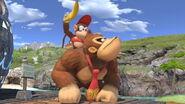 Donkey Kong y Diddy Kong en la Gran Bahía SSBU