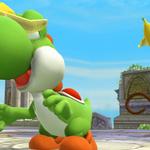 Yoshi junto a Diddy Kong SSB4 (Wii U).png