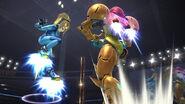 Samus y Samus Zero SSB4 (Wii U)