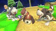 Varios Dúos Duck Hunt en Mario Galaxy SSBU