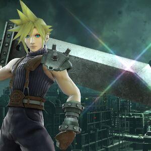 Cloud en Midgar SSB4 (Wii U).jpg