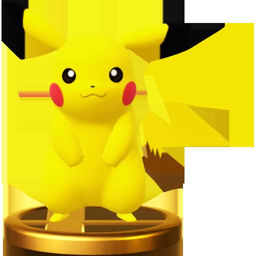 Lista de trofeos de SSB4 Wii U (Pokémon)