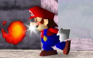 Bola de fuego Mario SSB