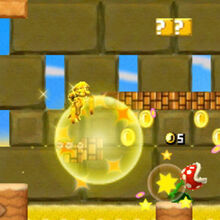Mario dorado en New Super Mario Bros 2.jpg