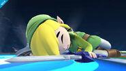 Toon Link en el Castillo del Dr. Wily SSB4 (Wii U)