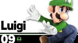 09 Luigi – Super Smash Bros