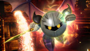 Meta Knight en la Central Geotermica SSB4 (Wii U)
