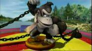 Donkey Kong capturado en el esquife (ESE) SSBB