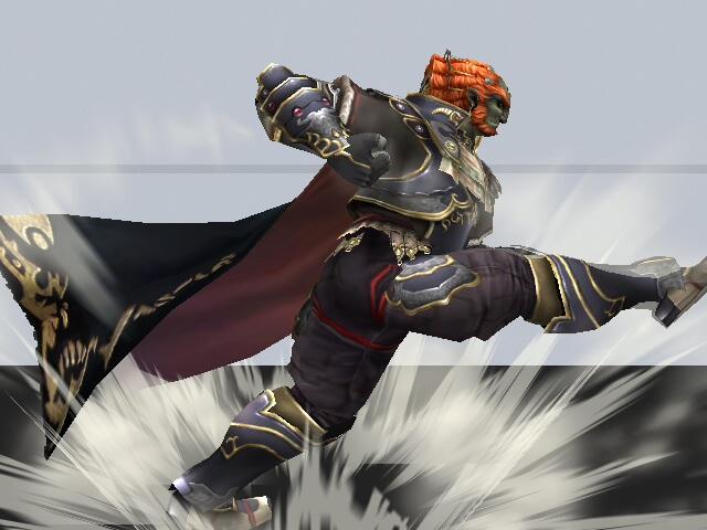 Ataque Smash hacia abajo