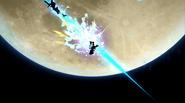 Greninja usando Técnica Floral Ninja (3) SSB4 (Wii U)