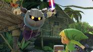Meta Knight y Toon Link en la Selva Kongo SSBU