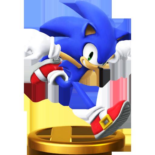 Lista de trofeos de SSB4 Wii U (Sonic the Hedgehog)