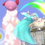 Estela y Kirby en el Templo SSBU.jpg