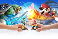 Anuncio de los amiibo en Super Smash Bros. para Wii U