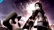 Luigi y Lucina con su Smash Final SSB4 (Wii U)